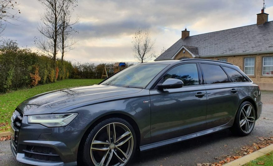 Sep 2016 Audi A6 2.0 TDI Ultra S Line 5dr (Black Edition Styling)1 OWNER, F/S/H, 1 YEARS WARRANTY! FINANCE! AS NEW!