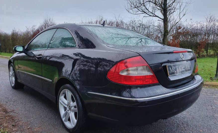 """2008 Mercedes CLK-Class 220 CDi Avantgarde 2dr Tip Auto """"ONLY 79K"""" TWO OWNERS"""