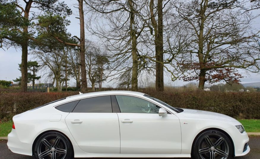 Audi A7 3.0 TDI Quattro S Line 5dr S Tronic 245BHP! TECH PACK! HEAD UP DISPLAY! BOSE! 20 INCH ALLOYS