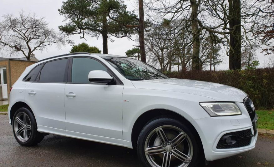 2017 Audi Q5 2.0 TDI [190] Quattro S Line Plus 5dr 1 OWNER,F/A/S/H,1 YEARS WARRANTY, GREAT SPEC