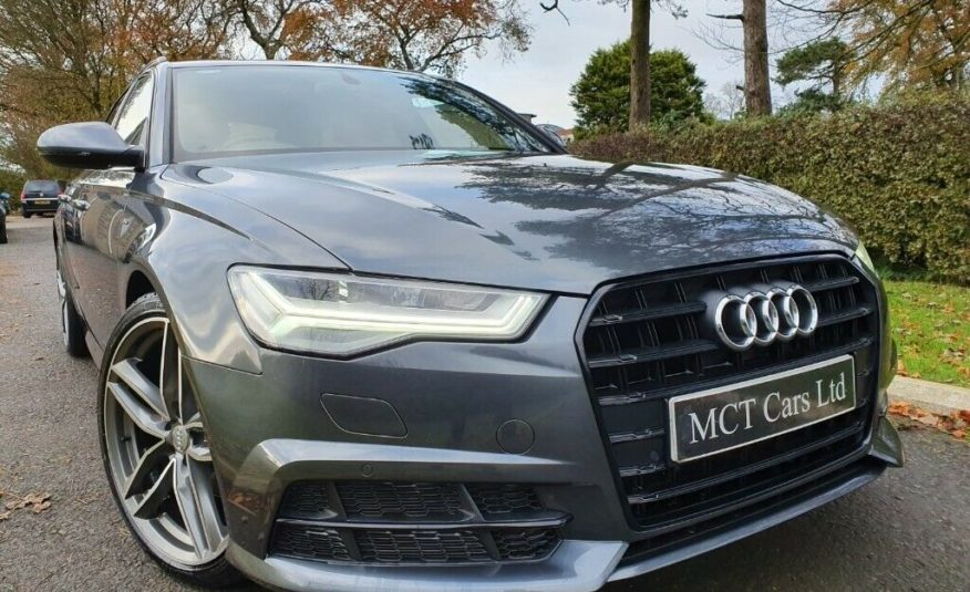 2017 Audi A6 2.0 TDI Ultra S Line 5dr 1 OWNER,F/S/H,1 YEARS WARRANTY,EXCELLENT CONDITION