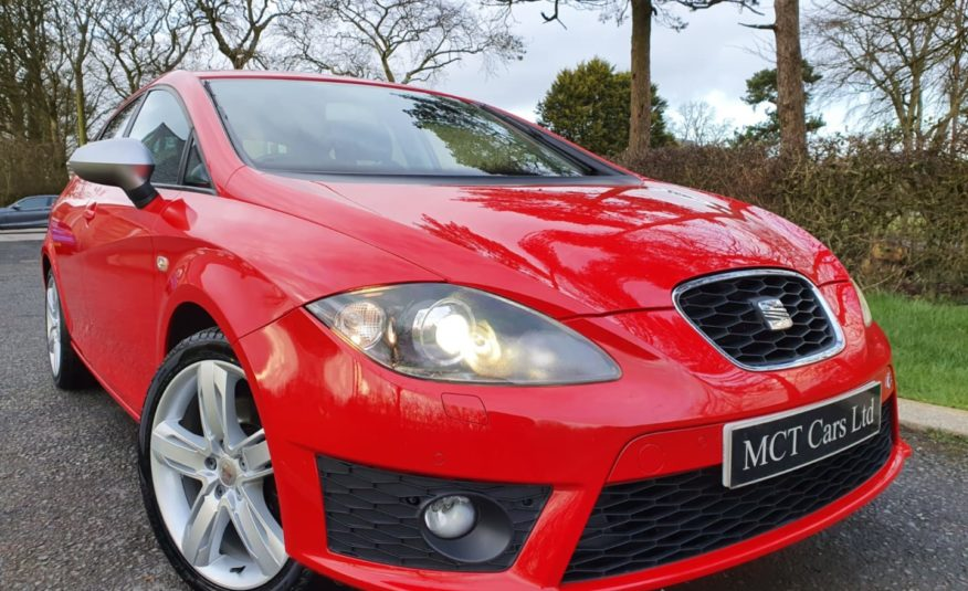 "2013 Seat Leon 2.0 TDI CR FR+ 5dr 2 OWNERS, FULL SERVICED HISTORY"" 1 YEARS WARRANTY"" MOT SEPTEMBER"