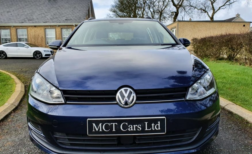 2017 Volkswagen Golf 1.6 TDI 110 Match Edition 5dr 1 OWNER,FULL VW SERVICE HISTORY! 1 YEARS WARRANTY