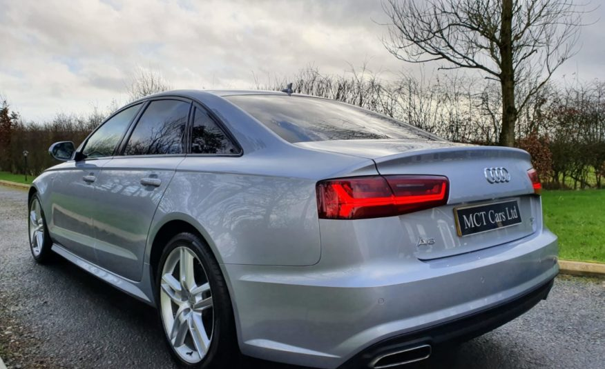 Dec 2016 Audi A6 2.0 TDI Ultra S Line 4dr S Tronic 1 OWNER,F/S/H,1 YEARS WARRANTY,EXCELLENT CONDITION