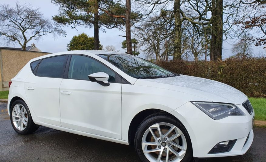 Nov 2016 Seat Leon 1.6 TDI 110 SE 5dr [Technology Pack] 1 OWNER,F/S/H, 1 YEARS WARRANTY, AS NEW