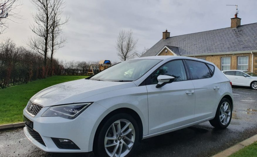 Aug 2016 Seat Leon 1.6 TDI 110 SE 5dr [Technology Pack] 1 OWNER,F/S/H, 1 YEARS WARRANTY, AS NEW!