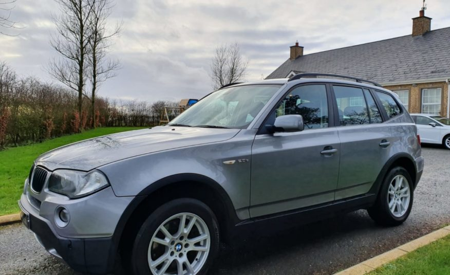 Jun 2007 BMW X3 2.0d 4X4 SE 5dr LEATHER! VERY LOW MILES! SERVICE HISTORY, EXCELLENT EXAMPLE