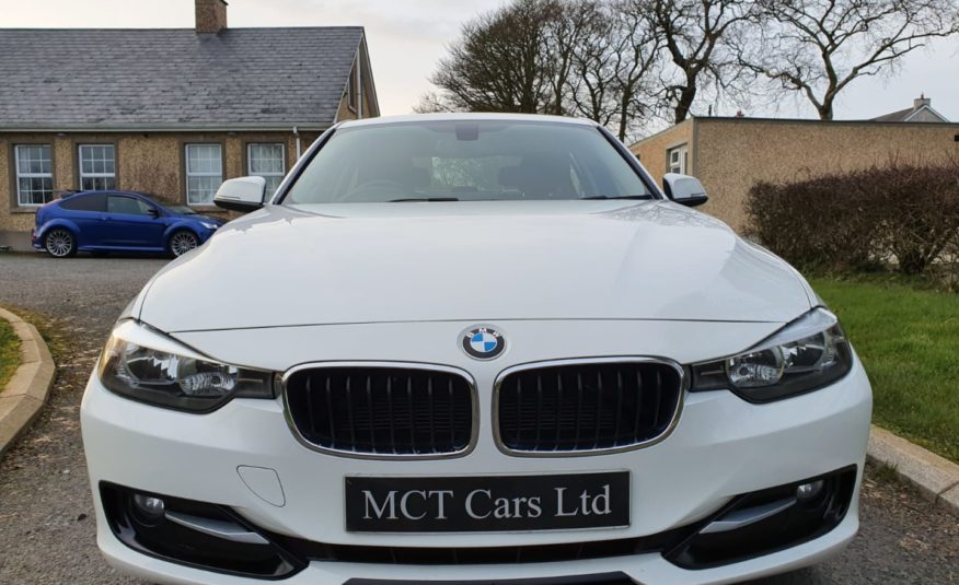 Aug 2012 BMW 3 Series 318d Sport 4dr (ALPINE WHITE) FSH, MOT'D AUG, STUNNING EXAMPLE! £30 TAX