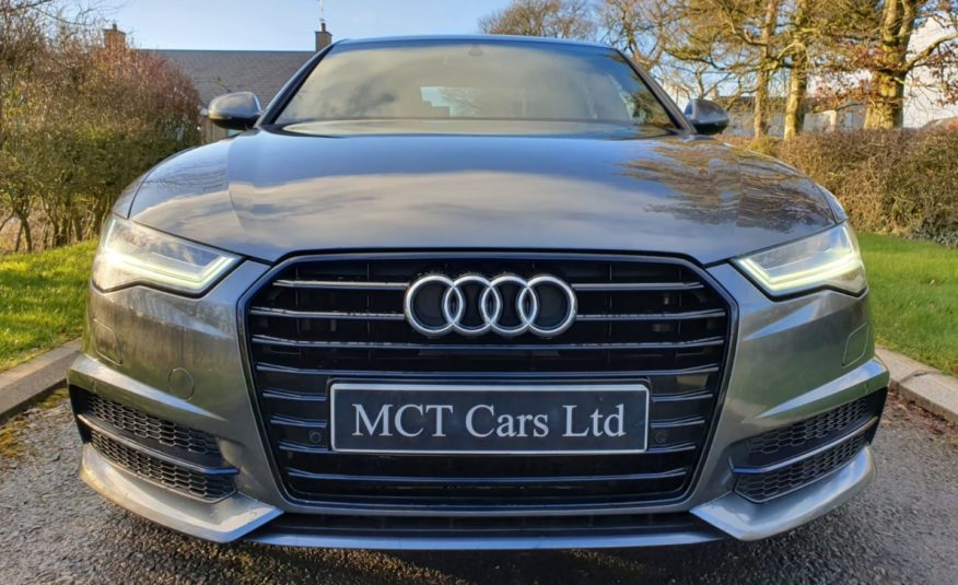 2015 Audi A6 2.0 TDI Ultra S Line 4dr S Tronic BLACK ED SPEC! 20 INCH RS6 ALLOYS,FSH, HEATED LEATHER