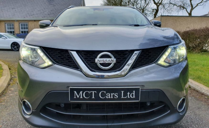 2014 Nissan Qashqai 1.5 dCi Tekna 5dr HEATED LEATHER, CAMERA'S, NAV, XENON LIGHTS, FREE ROAD TAX