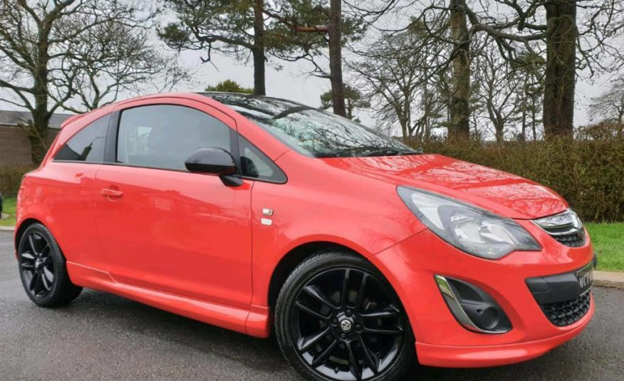 (FLAME RED) 2014 Vauxhall Corsa 1.2 Limited Edition! Only 39000 Miles! Lovely Car!