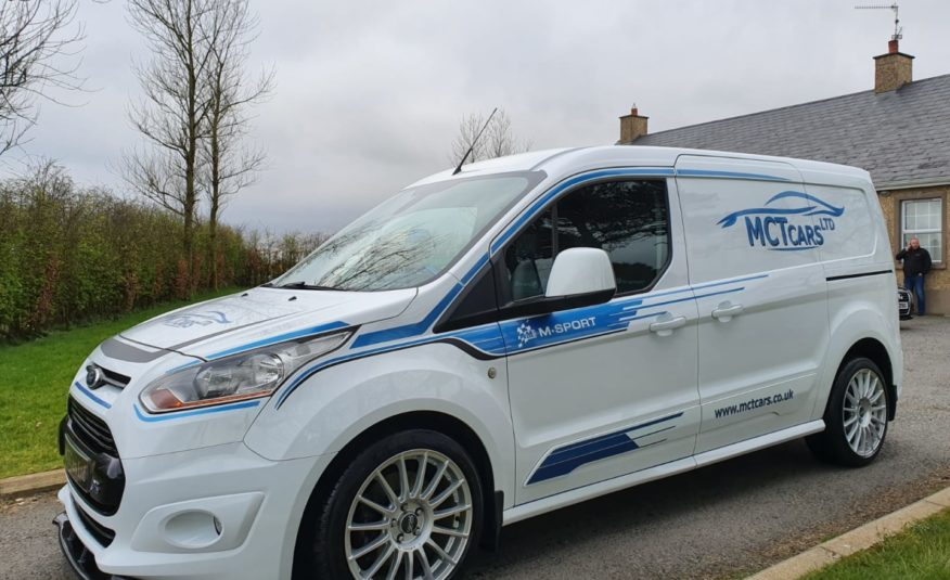 2016 Ford Transit Connect 1.6 TDCi 115ps Limited Van! GENUINE OZ M SPORT ALLOYS! CUSTOM LEATHER!