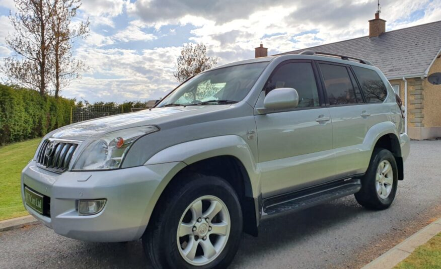 2008 Toyota Land Cruiser 3.0 D-4D LC3 5dr [173] AUTO, STUNNING EXAMPLE! SERVICE HISTORY, 8 SEATER