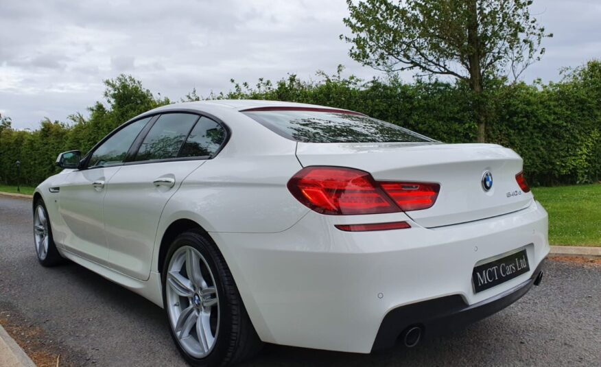 Mar 2015 BMW 6 Series 640d M Sport 4dr Auto (FACELIFT) ALPINE WHITE!! FBMWSH, STUNNING CAR! FINANCE