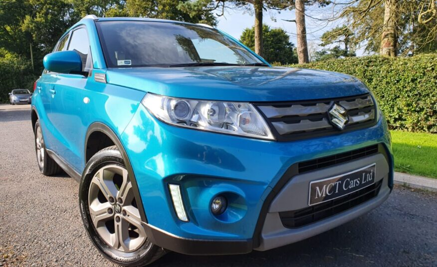 Apr 2017 Suzuki Vitara 1.6 DDiS SZ-T 5dr SAT NAV, REAR CAMERA, GREATSPEC, FULL SUZUKI HISTORY