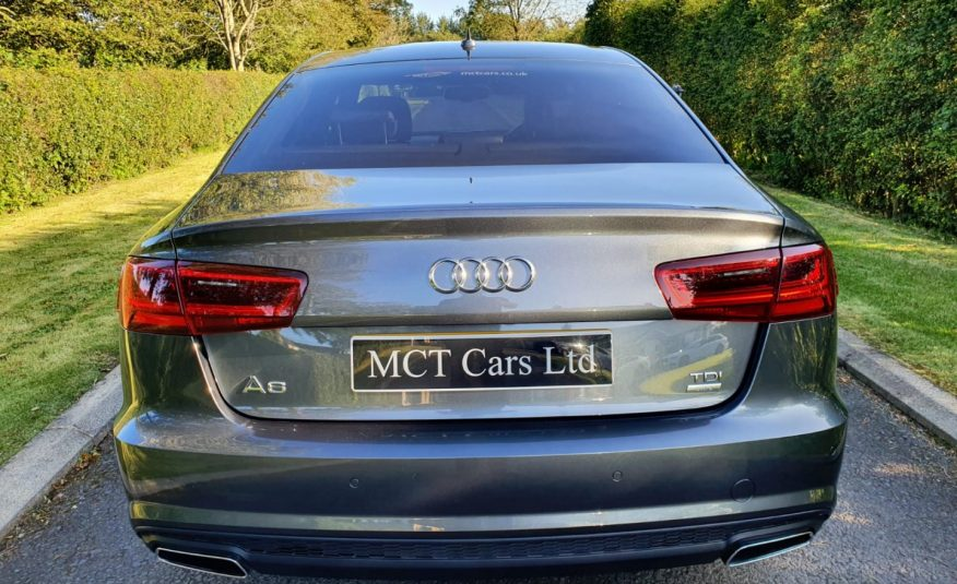 Oct 2016 Audi A6 2.0 TDI Ultra Black Edition 4dr, BOSE, FLAT BOTTOM WHEE, 1 OWNER, FULL AUDI S/H
