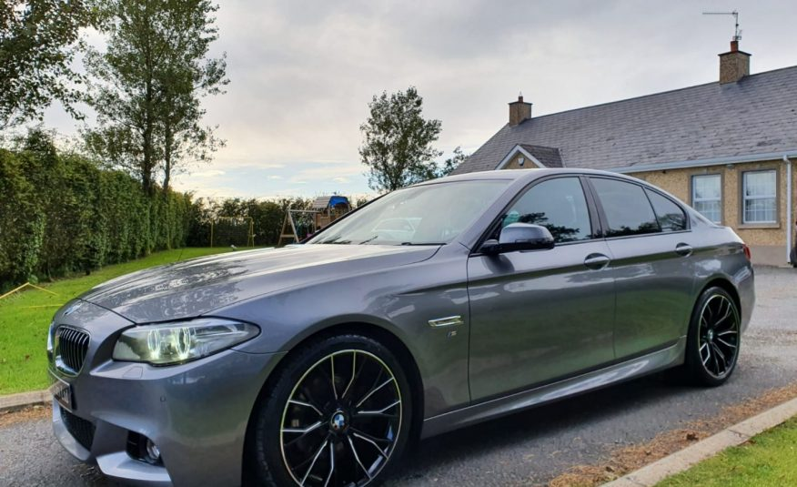 2014 BMW 5 Series 520d M Sport 4dr Step Auto, NAV, HEATED LEATHER, NEW 20 INCH M PERFORMANCE ALLOYS