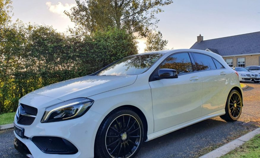 Jul 2016 Mercedes A-Class A180d AMG Line Premium 5dr NIGHT PACK! HEATED SEAT, SAT NAV, CAMERA, FSH