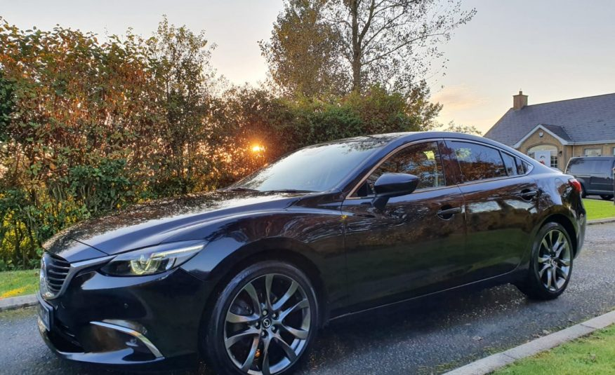 2016 Mazda 6 2.2d [175] Sport Nav 4dr HEATED LEATHER, BOSE, XENONS, HEAD UP DISPLAY! 1 OWNER,