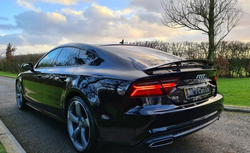 2015 Audi A7 3.0 TDI Quattro 272 Black Edition 5dr S Tronic TECH PACK ADVANCED! BOSE! PARKING PACK ADVANCED! £9100 OF FACTORY UP-GRADES