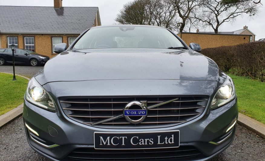 2017 Volvo S60 D3 [150] SE Lux Nav 4dr GearTronic! ONE OWNER, FULL VOLVO S/H, LEATHER, XENON LIGHTS