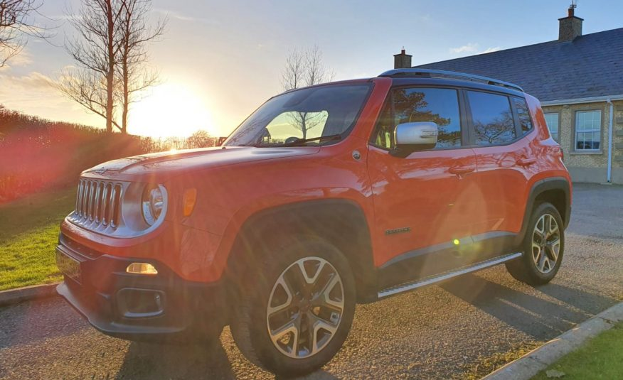 Jul 2015 Jeep Renegade 2.0 Multijet Opening Edition 5dr 4WD, As New! Top Spec, Full S/H