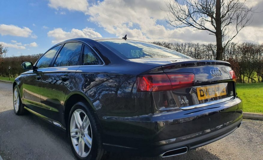 2016 Audi A6 2.0 TDI Quattro SE 4dr S Tronic LOW MILES!! FACTORY S LINE ALLOYS! ONE OWNER, FASH