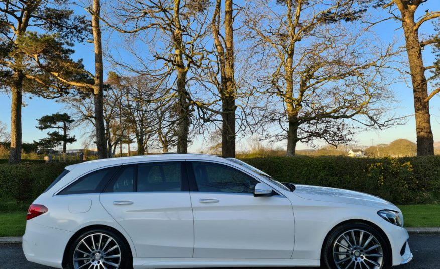 Mar 2015 Mercedes C-Class C250 BlueTEC AMG Line Premium 5dr Estate, PAN ROOF, CAMERA, TOP SPEC!