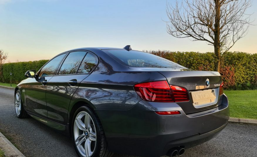 Jul 2016 BMW 5 Series 520d [190] M Sport 4dr Step Auto 19 INCH M SPORT ALLOYS, £4845 Of Extras