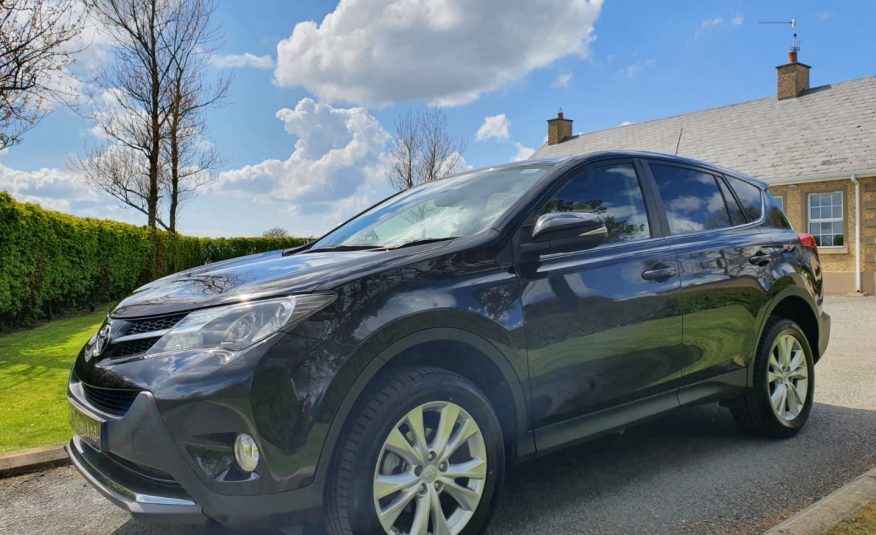 Apr 2013 Toyota RAV4 2.2 D-4D Icon 5dr AWD! ONE OWNER, FULL S/H, CAMERA, POWERBOOT, GREAT EXAMPLE