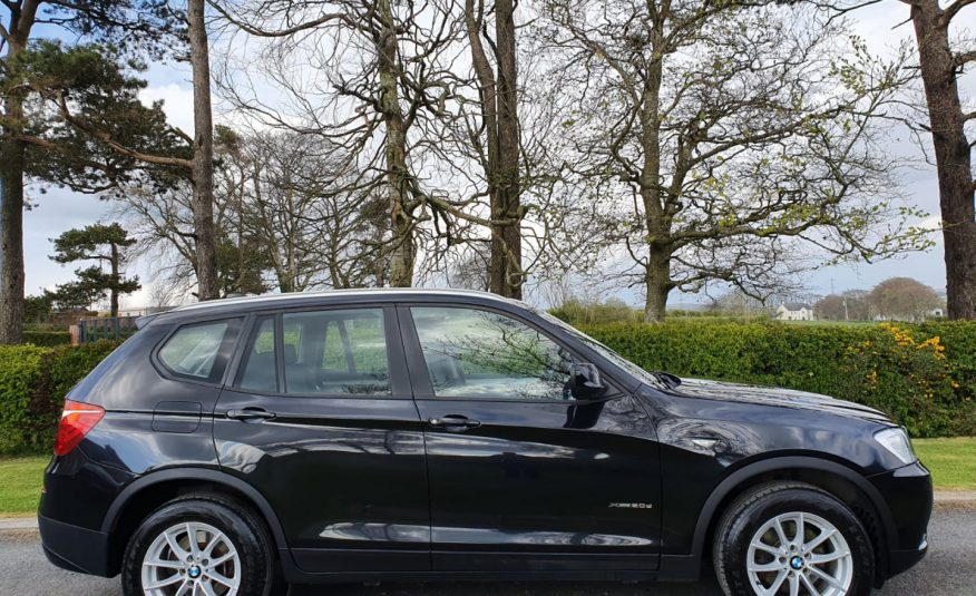 Sep 2013 BMW X3 xDrive20d SE 5dr Step Auto HEATED LEATHER, FULL S/H, LOVELY EXAMPLE, MOT'D SEPTEMBER
