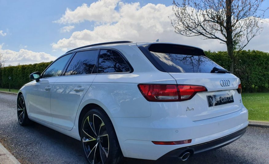Nov 2017 Audi A4 2.0 TDI Ultra Sport S Tronic 1 OWNER,PANROOF! FULL A/S/H,HEATED LEATHER, BLACK EDITION STYLING