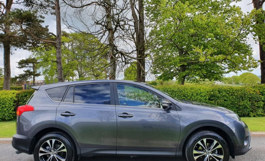 Sep 2015 Toyota RAV4 2.0 D-4D AWD Icon 5dr FULL SERVICE HISTORY, REVERSE CAMERA, DRIVES AS NEW!