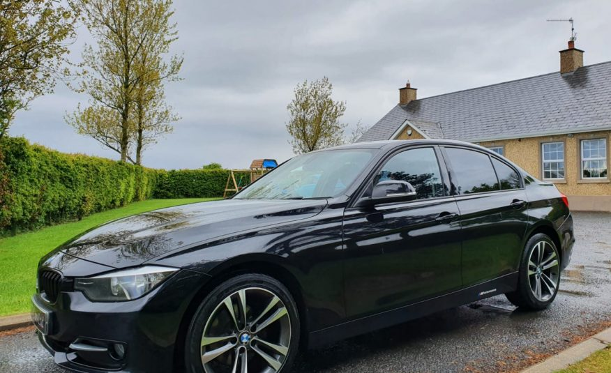 Aug 2012 BMW 3 Series 318d Sport 4dr 18 INCH ALLOYS, M PERFORMACE SPEC, JUST SERVICED, £30 TAX