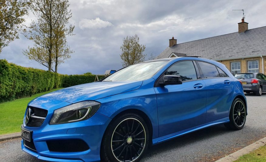 Aug 2015 Mercedes A-Class A200 CDI AMG Night Edition 5dr PAN ROOF! EXCLUSIVE AMG PACK, H & K SOUND! £4770 OF EXTRAS