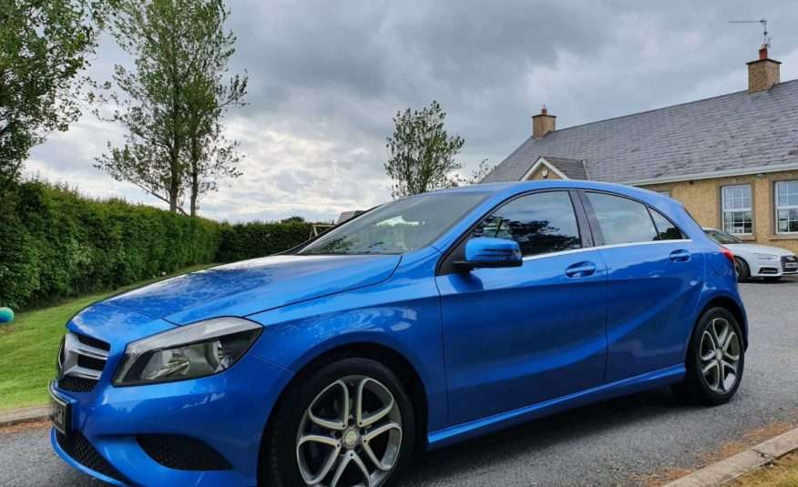 Mar 2015 Mercedes A-Class A180 CDI BlueEFFICIENCY Sport 5dr SAT NAV1 LEATHER! ONLY £20 ROAD TAX! FULL SERVICE HISTORY!
