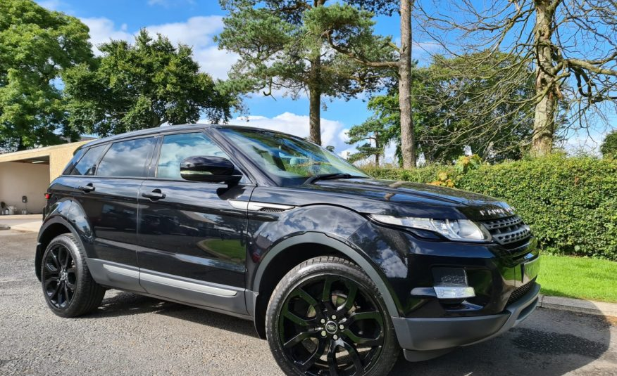 2013 Land Rover Range Rover Evoque 2.2 SD4 Pure 5dr Auto PAN ROOF, 20 INCH ALLOYS, HEATED SEATS
