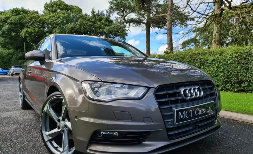 2014 Audi A3 1.6 TDI 110 Sport 4dr £3000 FCATORY EXTRAS, BLACK ED STYLING, 18 INCH RS ALLOYS