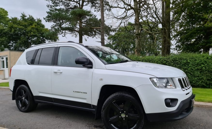Sep 2012 Jeep Compass 2.2 CRD Limited 5dr 4X4 TOP SPEC, HEATED LEATHER, GLOSS BALCK ALLOYS, FSH