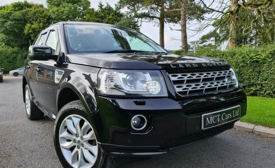 2013 Land Rover Freelander 2.2 SD4 HSE 5dr Auto PAN ROOF, TOP SPEC, MERIDIAN SOUND, HEATED LEATHER