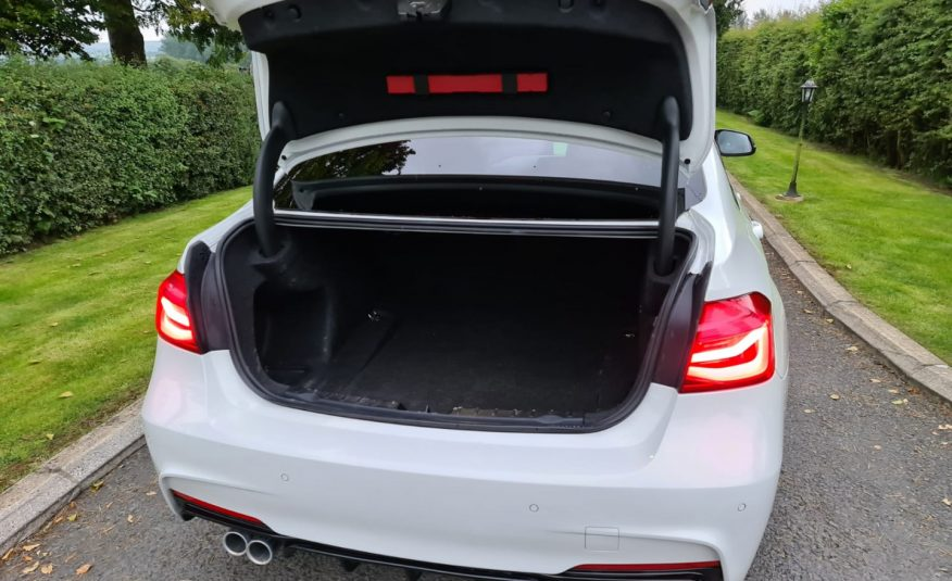 Sep 2015 BMW 3 Series 335d xDrive M Sport 4dr Step Auto 313BHP, RED LEATHER, GLOSS M PERFORMANCE KIT