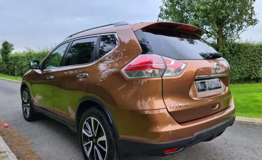 Aug 2015 Nissan X-Trail 1.6 dCi Tekna 5dr 4WD [7 Seat] PAN ROOF, HEATED LEATHER, 360 VISION